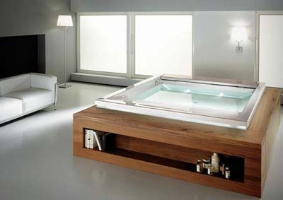 جدیدترین وان حمام, طراحی ماساژورهای سلطنتی