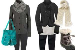 اصول پوشش در زمستان, نحوه لباس پوشيدن در زمستان