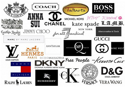 آشنایی با گرانترین برندها, برندهای معروف لباس