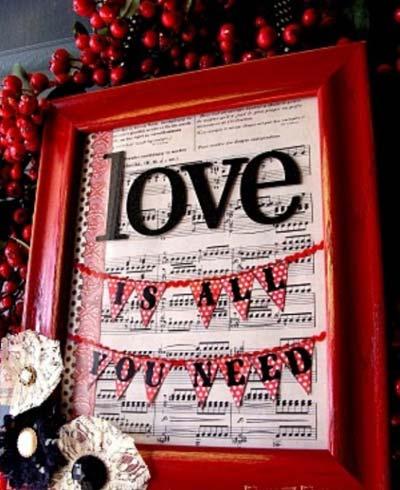 دکوراسیون خانه برای ولنتاین,تزیینات ولنتاین