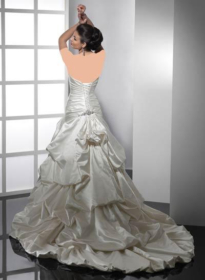 ویسگون مدل لباس عروس , لباس عروس سال 85 ویسگون