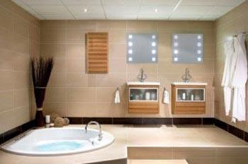 اصول تغییر دکوراسیون حمام , دکوراسیون زیبای حمام