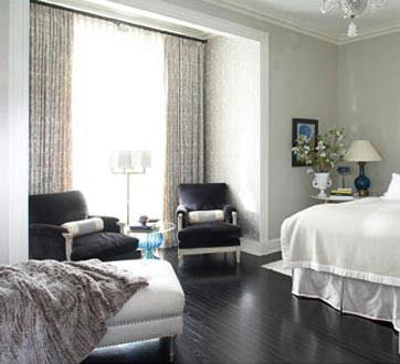 اتاق خواب های طوسی, دکوراسیون و چیدمان