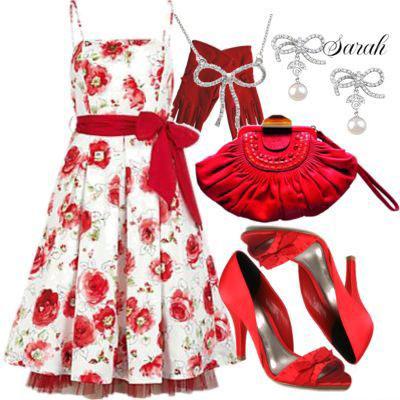 ست لباس های صورتی , ست لباس قرمز