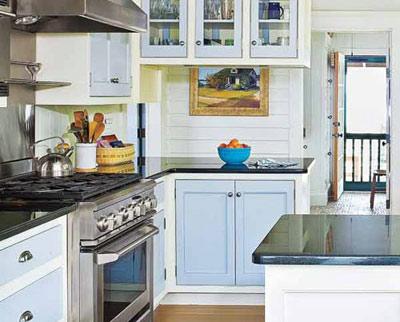 دکوراسیون آشپزخانه و لاغری , تغییر دکور آشپزخانه