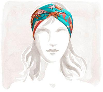 مدل های روسری Hermes, مدل روسری