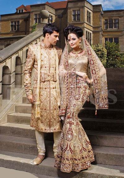 مدل جدید لباس عروس هندی و پاکستانی