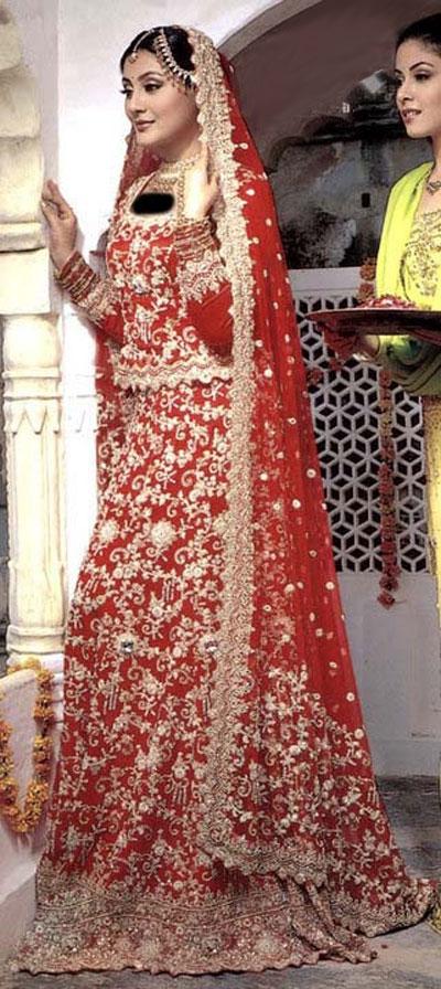 لباس عروس هندی , مدل لباس عروس پاکستانی