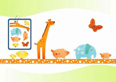 برچسب دیواری اتاق کودکان, استیکر اتاق کودکان