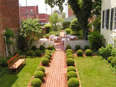 تصاویر دکوراسیون باغچه و حیاط , دکوراسیون باغ