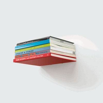 طراحی کتابخانه , قفسه های مخفی برای کتاب