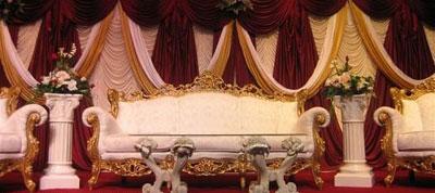 تزیین جایگاه عروس و داماد , جایگاه های عروس و داماد
