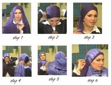 بستن شال و روسری جدید , آموزش تصویری بستن شال و روسری