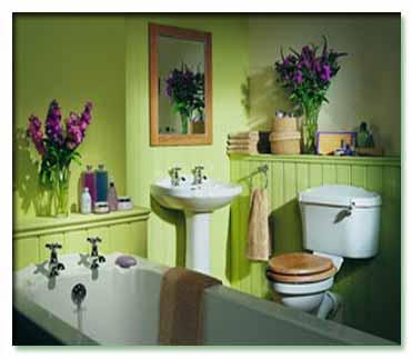 تزیین حمام
