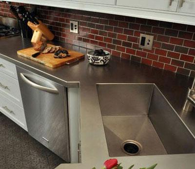سینک های ظرفشویی, سینک های خلاقانه