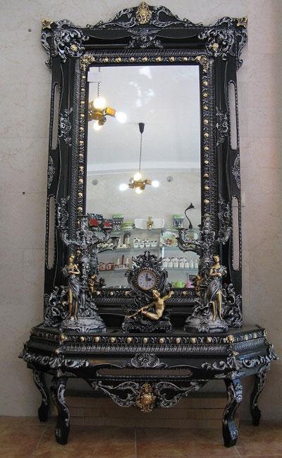 مدل آینه و شمعدان