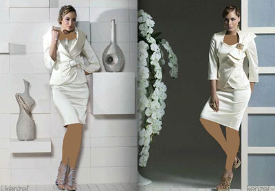 کت و دامن 2013, مدل کت و دامن کوتا