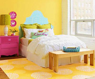 رنگ آمیزی اتاق خواب , تکنیک های رنگ آمیزی اتاق خواب