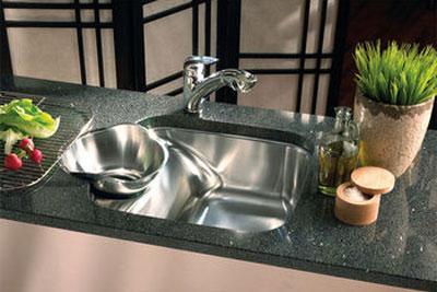 شیک ترین سینک های ظرفشویی , طراحی جدیدترین سینک های ظرفشویی