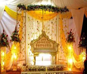 عکس   جایگاه عروس و داماد
