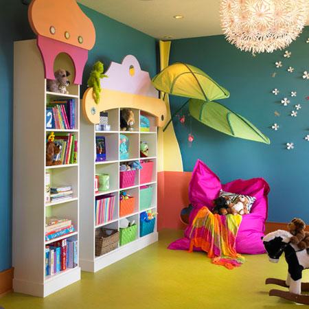 دکوراسیون اتاق کودکان و نوجوانان, چیدمان اتاق کودکان
