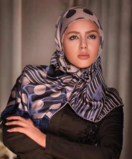 مدلهای جدید بستن شال و روسری