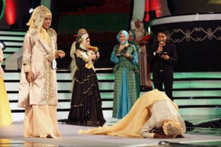 تصاویر دختر شایسته جهان اسلام,برگزاری مراسم انتخاب دختر شایسته