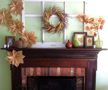 دکوراسیون پاییزی,چیدمان پاییزی خانه