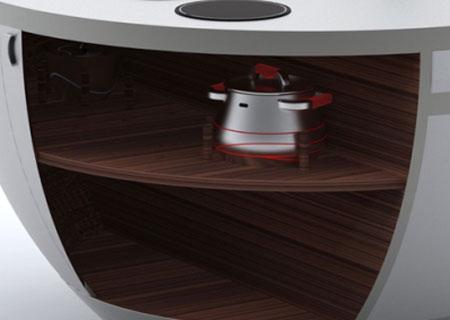 طراحی کوچک ترین آشپزخانه , مدل کوچک ترین آشپزخانه