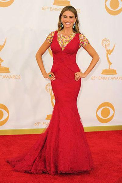 رتبه بندی لباس های هنرمندان هالیوودی در جشنواره Emmy 2013