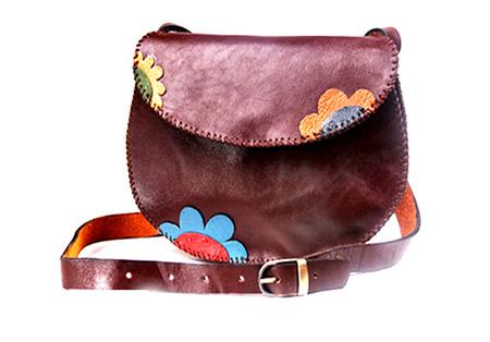 کیف چرم زنانه و دخترانه,کیف دستی چرم دست دوز