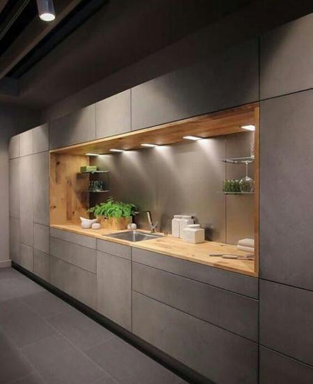 دکوراسیون و چیدمان آشپزخانه های مدرن, مدرن ترین دکوراسیون آشپزخانه