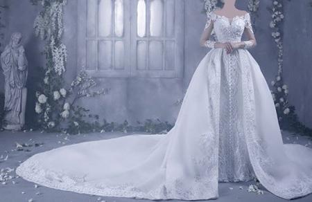 جدیدترین مدل لباس عروس,لباس عروس پوشیده