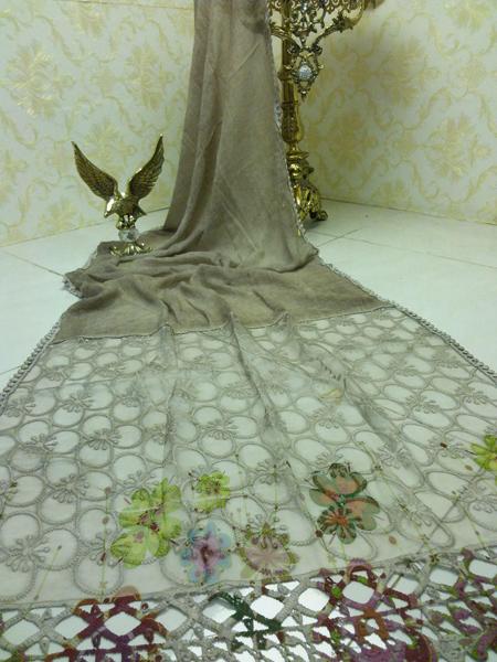 طرح های زیبا از مدل شال و روسری,مدل روسری مجلسی