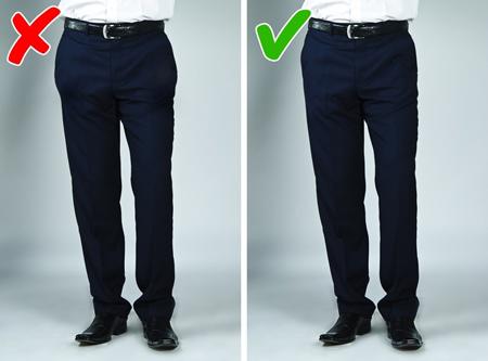 اصول و نحوه پوشش لباس,درست لباس پوشیدن