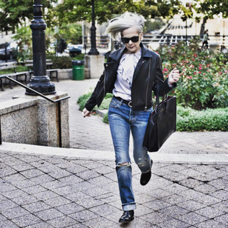 لباس پوشیدن کهنسال ترین مدل زن,آشنایی با مدل های معروف