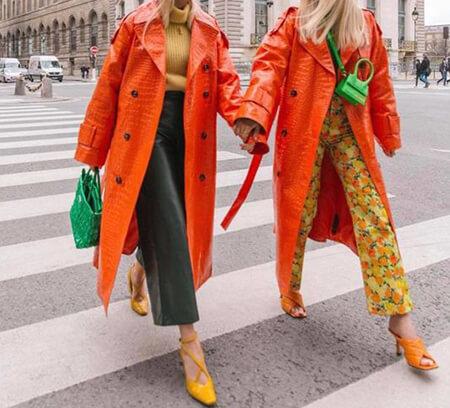 بهترین رنگ برای ست کردن با مانتو نارنجی, رنگ های مناسب برای ست کردن با مانتو نارنجی, نکته هایی برای انتخاب رنگ های مناسب برای ست با مانتو نارنجی