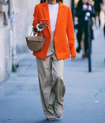 رنگ های مناسب برای ست کردن با مانتو نارنجی, نکته هایی برای انتخاب رنگ های مناسب برای ست با مانتو نارنجی, اصول انتخاب ست های مانتو نارنجی