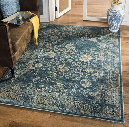 انواع فرش های پتینه, مدل فرش های کهنه کاری