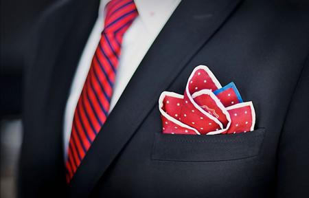 ید کراوات و دستمال جیب,راهنمای ید کراوات و دستمال جیب