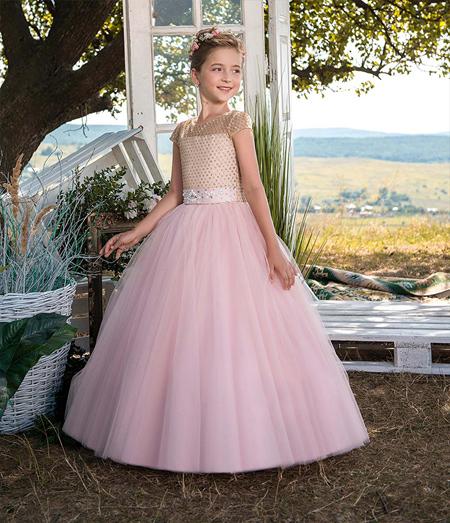 شیک ترین لباس مجلسی دخترانه, پیراهن مجلسی پرنسسی