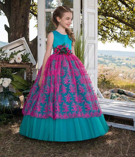 مدل لباس پرنسسی دخترانه, شیک ترین لباس مجلسی دخترانه