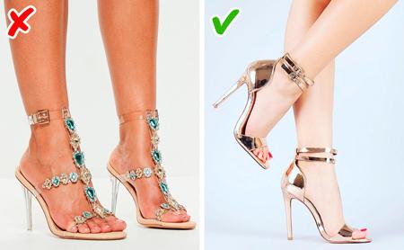 رعایت اصول در انتخاب کفش