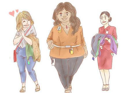 خوش پوشی افراد چاق,اصول خوش پوشی افراد چاق