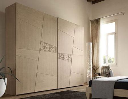 مدل کمد دیواری ریلی اتاق خواب کوچک,مدل کمد دیواری ریلی کوچک