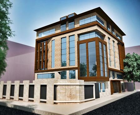 سال 2016 و نمای ساختمان مسکونی جدید
