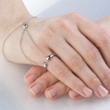 دستبند انگشتری,مدل دستبند انگشتری
