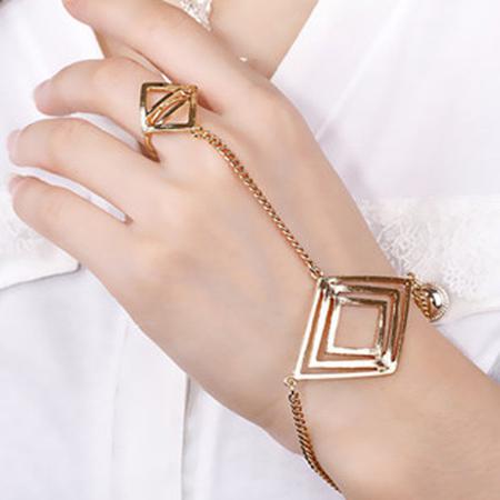 شیک ترین مدل دستبند انگشتری,دستبند انگشتری های شیک