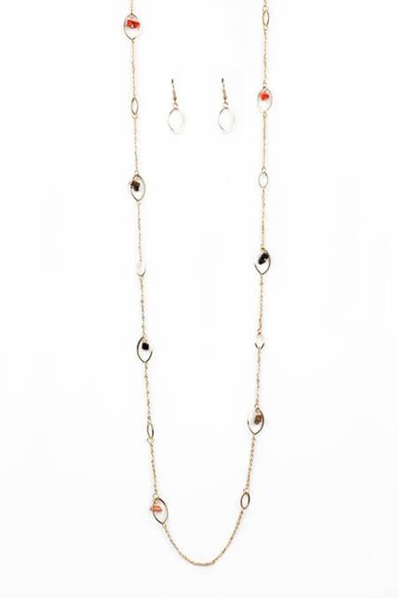 مدل گردنبندهای طلا و جواهر,مدل گردنبند رو لباسی طلا,مدل های گردنبند رو لباسی