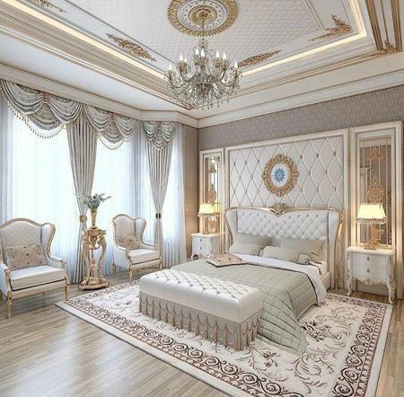 تزیین اتاق خواب سلطنتی,اتاق خواب های سلطنتی